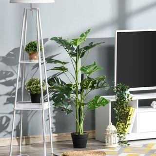 Planta Artificial Monstera con Maceta Árbol Tropic