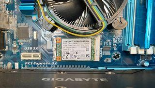 Placa base Gygabyte + CPU i5 3750 + Ram + MSata