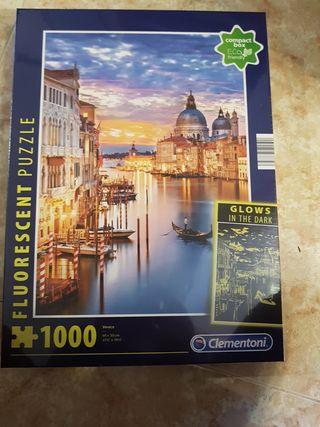 Puzzle Venecia fluorescente