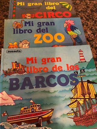 Libros desplegables (3€ los3)