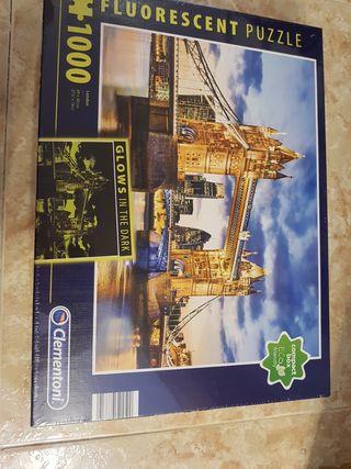 Puzzle Londres fluorescente