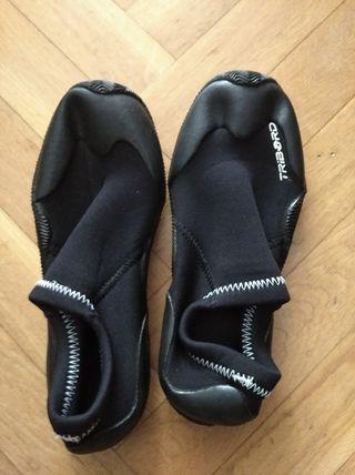 Escarpín neopreno kayak talla 33/34
