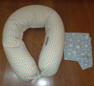 Cojín de embarazo y lactancia con funda extra
