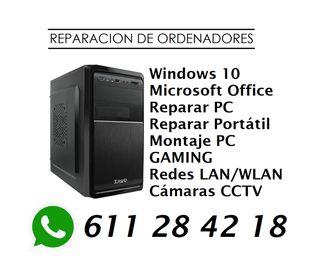 REPARACIÓN ORDENADORES MANTENIMIENTO INFORMATICO