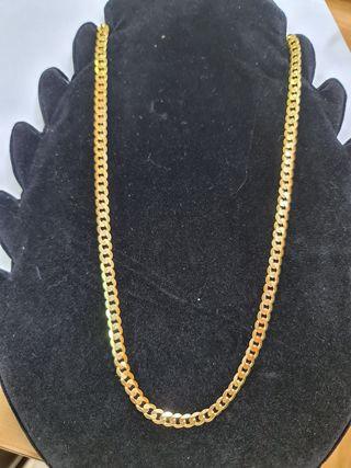 cadena de oro de hombre