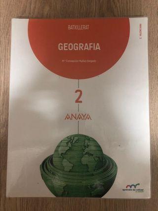 geografía 2 bachiller