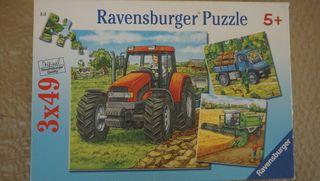 Puzzle de tractor, camión etc