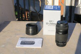Teleobjetivo Canon EF-S 55-250mm f/4-5.6 IS STM