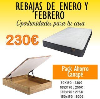 Pack Ahorro Canapé OFERTA