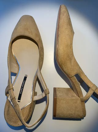Zapatos tacon medio nuevos 38