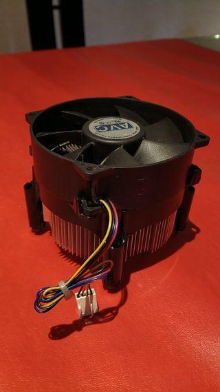 ventilador cpu procesador
