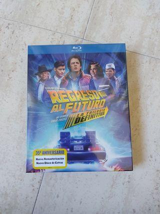 Blu ray Trilogia Regreso al Futuro