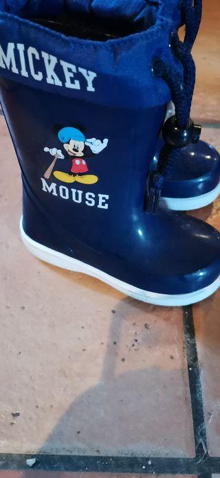 botas de agua niño Mickey 24