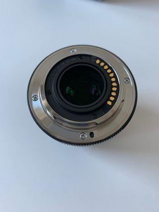 Objetivo Zuiko 45mm f1.8
