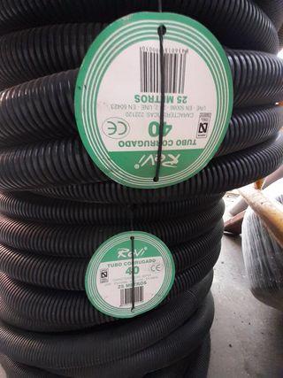 4 rollos de 40 para cables