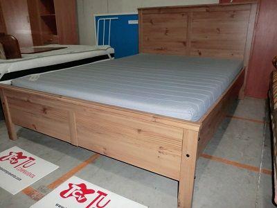 Estructura Ikea cama completa + colchon 140x200 cm