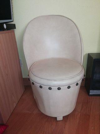 sillón pequeño vintage