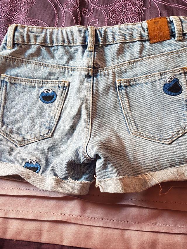 Pantalon corto.Talla 8.Zara