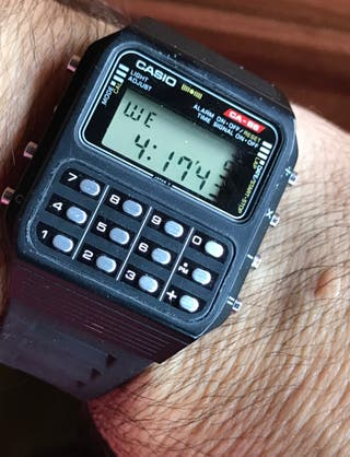 Casio calculadora CA 86
