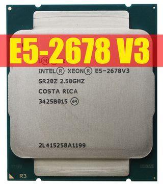 Procesador Intel Xeon E5-2678 v3