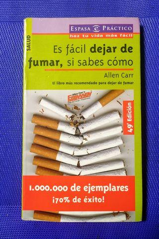 Es facil dejar de fumar.