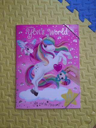 Cuaderno de pegatinas Ylvi's World (nuevo)