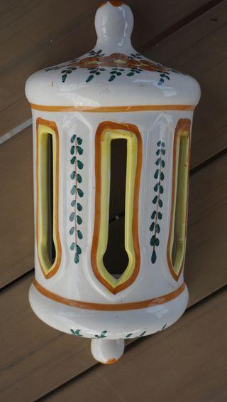 Lampara aplique de cerámica