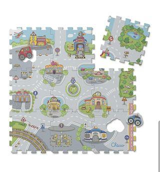 """Alfombra Puzzle """"Ciudad"""" de Chicco"""