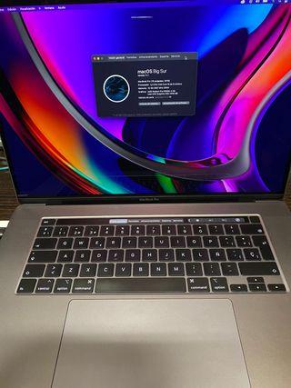 MACBOOK PRO 16 pulgadas Intel Core i9 1TB (2019)
