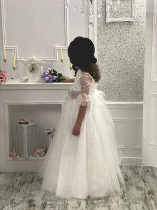 Vestido de comunión talla 120