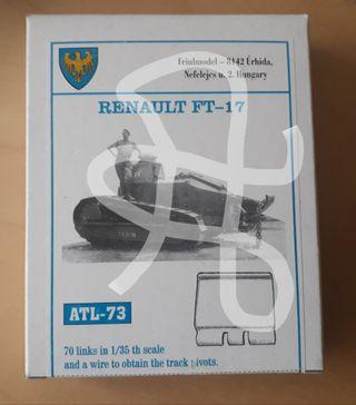 Cadenas Renault FT 17 Maqueta Kit 1/35