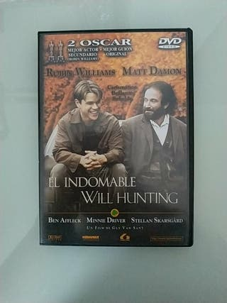 DVD El indomable Will Hunting