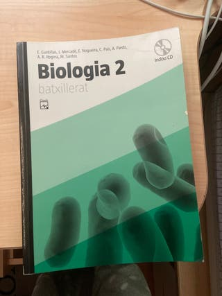 Libro de Biología de 2n Bachillerato