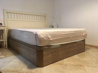 Cama de matrimonio (canapé+colchón)