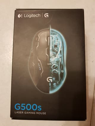 Ratón logitech G500s (laser gaming mouse)
