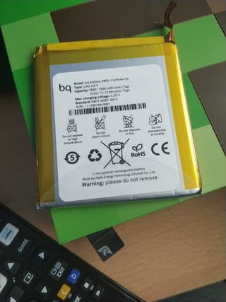 Batería bq E5 nueva