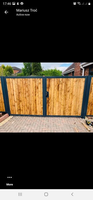 Electric/manual Gates and fencing