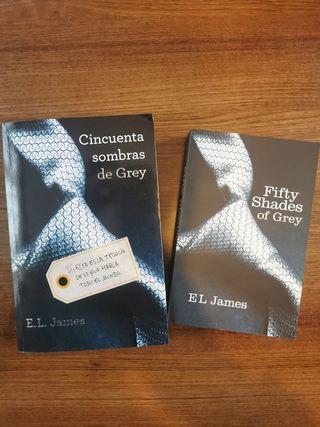 Libros de Cincuenta Sombras de Grey