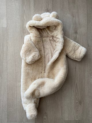 Buzo peluche unisex 1/3 meses (Zara)