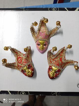 imán máscara carnaval Venecia
