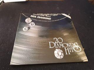 LP Neil Diamond, 20 Diamonds Hits
