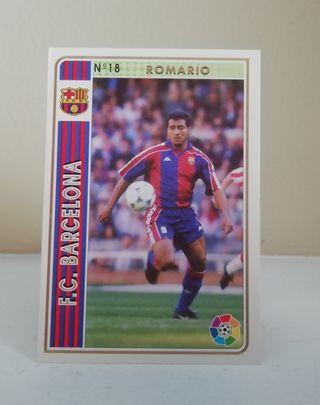 ROMARIO #18 ROOKIE CARD FICHAS LIGA 94/95