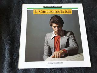 LP El Camaron de la Isla, La Magia cantaora, y otr
