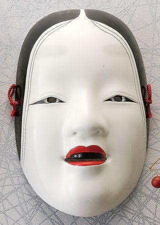 máscara japonesa de Zohonna