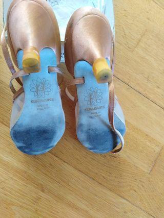 Zapatos bailes de Salón, bailes latinos talla 38