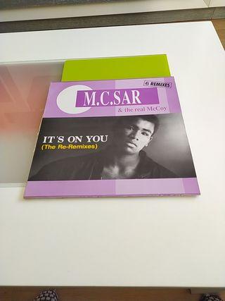 Vinilo Maxi M.C.Sar & The real McCoy