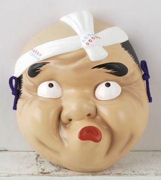 máscara japonesa de Hyottoko