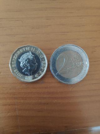 one pound 2018 Elizabeth ||