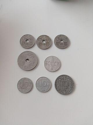 Ofertón! Monedas de la época franquista