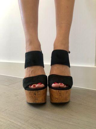 Sandalias plataforma Zara